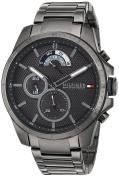 Tommy Hilfiger Men's 'COOL SPORT' Quartz Resin Casual Watch, Colour:Grey (Model