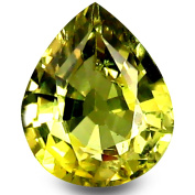 0.89 ct HKD Certified Pear Cut (7 x 5 mm) Brazilian Un-Heated Natural Chrysoberyl Loose Gemstone