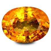 1.76 ct GIL Certified Oval Shape (8 x 6 mm) Ceylon Orange Sapphire Natural Loose Gemstone