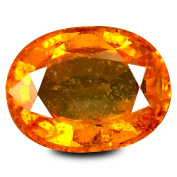 1.75 ct GIL Certified Oval Shape (8 x 6 mm) Ceylon Orange Sapphire Natural Loose Gemstone
