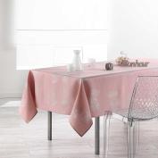 Douceur d 'Intérieur Rectangular Tablecloth, Polyester, Duck Egg, 240 x 150 cm