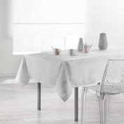Douceur d 'Intérieur Rectangular Tablecloth, Polyester, white, 300 x 150 cm