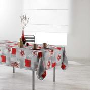 Douceur d 'Intérieur Rectangular Tablecloth, Polyester, multicoloured, 150 x 240 cm