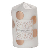 Artisan Festive Pillar Candle Decal Copper Sticker 6cm x 10cm