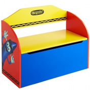 Crayola Kids Books DVDs And Toys Storage BencH