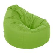 Great Bean Bags Chair, Fabric, Lime Green, 61 x 61 x 96 cm