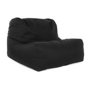 Great Bean Bags Layz Bean Bag Chair, Fabric, Black, 61 x 61 x 96 cm
