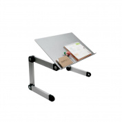 Notebook folding computer desk aluminium alloy Variety metal student table