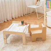 KINOKINO Roll Sketch Kids desk Children's Desk Chair Set Kids Furniture Full set