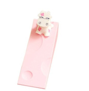 Fengh 2pcs Cute Cartoon Cow Baby Care Edge Guards Door Stopper