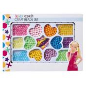 Kids' Art & Craft Beads Set Assorted