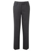 Alexandra Assured STC-NF602CH-12S Women's Trouser, Plain, Short, 55% Polyester/45% Wool, Size