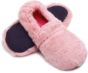 Intelex Hot Slippers Microwaveable Pink