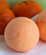 Christmas Orange Bath Bomb & Sponge Gift Set - Limited Edition