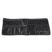 Anself Makeup Pouch Brush Bag Travel Cosmetic Bag Makeup Brush Case Organiser with Belt Strap Brush Artist Belt