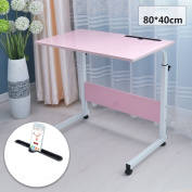 adjustable Folding table Laptop table Land mobile lazy tables 11 colours available 60 * 40cm Can be rotated