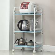 WSSF- Kitchen Storage Organisation Kitchen Trolley With Wheels Rack Floor-standing Pot Shelving Multi-layered Kitchen Supplies Storage Shelves