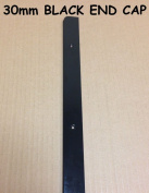 SWEETY HOUSE SWEET HOUSE Kitchen Worktop Edging Trim BLACK END CAP 30mm with screws BRAND NEW CHEAP
