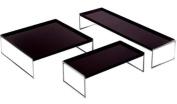 Kartell Trays Furniture, Black, 40 x 25.3 x 140 cm