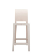 Kartell One More Please Chairs, Beige, 49 x 37.5 x 110 cm