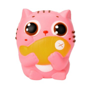 10CM Cute Pink Kitty Cat Cream Cream Scented Slime Stress Relief Toy ,Yannerr Scented Sludge Toy For Kids Soft Non-sticky Kids Squishes Food Stress Toys Stress Relief Toys for Adults