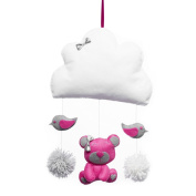 callyna® Teddy – Baby's Room Decoration Baby Cloud Hanging Garland. Hand Made