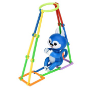 Climbing Toy Playset For Baby Monkey Playset,Y56 315PCS Puzzle Bodybuilding Interactive Baby Monkey Climbing Toy For Mini Monkey, Baby Monkey Climbing Stand/Baby Monkey Playset