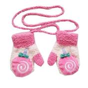 Fhouses Unisex BThethrough CThertoThet CorThel Fleece Gloves, BThetbThet