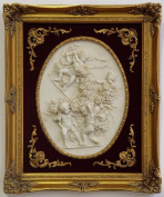 Casa Padrino Baroque Photo Frame Gold Antique style 51 x 61 cm - wall decoration