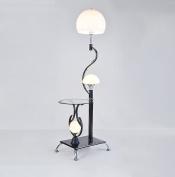 HJHY® led floor lamp, Resin Acrylic shade Eye protection Tea light living room Simple modern bedroom study Vertical E27 * 0.9m switch High 160cm Elegant