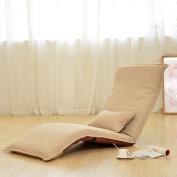 LI JING SHOP - Lazy Sofa Fold Chair Bedroom Living Room Cloth Individual Leisure Armchair