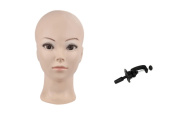 Bald Female Make up Manikin Head Cometology Mannequin Head for Wig Making and Dispay