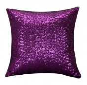 Jellbaby Glitter Sequins Square Throw Pillowcase Cushion Covers For Cafe Home Decor