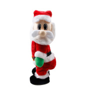 Good01 Standing Santa Claus Electric Doll Sing Dance Kids Toy Christmas Gift Ornament