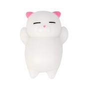 Mochi Squishy, SEWORLD Cute Squeeze Slow Rising Healing Fun Kids Kawaii Toy Stress Reliever Decor