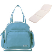 Sunveno Baby Nappy Bag Backpack 3 in 1 Nappy Changing Bag Mummy Tote Bag with Changing Mat