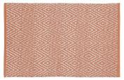 Rug Diamonds - Coral - 60x90 cm