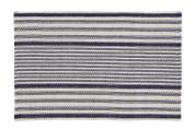 Rug Santorini - Navy, Beige - 60x90 cm