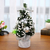 Jellbaby Christmas tree 20cm desktop mini Christmas tree counter gifts Christmas decorations red