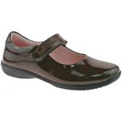 Lelli Kelly LK8218 (DJ01) Classic Brown Patent School Shoes F Fitting-27