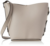 New Look Womens Bethan Sleek Top-Handle Bag Off-White