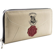 Harry Potter Letter Cream Coin & Card Zip Around Purse