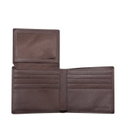 Skyhill Genuine Brown Leather RFID Blocking Wallets Mens Wallet (brown) 1 YEAR MONEY BACK GUARANTEE, NO QUIBBLE