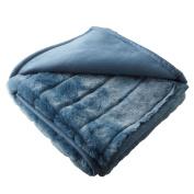 Madura Nebraska Nebraska Acrylic Blanket 140 x cm blue grey