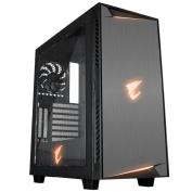Gigabyte Aorus AC300W ATX MidTower Gaming Case RGB Fusion-16.7M Customizable RGB Lighting ,