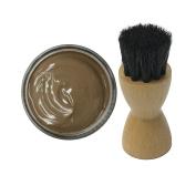 Woly Terra Shoe Cream 50ml & Fresh Step Luxury Application Brush
