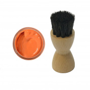 FAMACO ORANGE MANDERIN DYE CREAM Polish 15ml & Luxury Application Brush