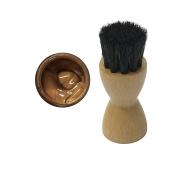 FAMACO METALLIC DEEP BRONZE CUIVRE DYE CREAM Polish 15ml & Luxury Application Brush