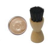 FAMACO NEUTRAL SABLE DYE CREAM Polish 15ml & Luxury Application Brush
