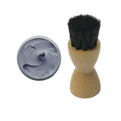 FAMACO GREY LIGHT GRIS DYE CREAM Polish 15ml & Luxury Application Brush